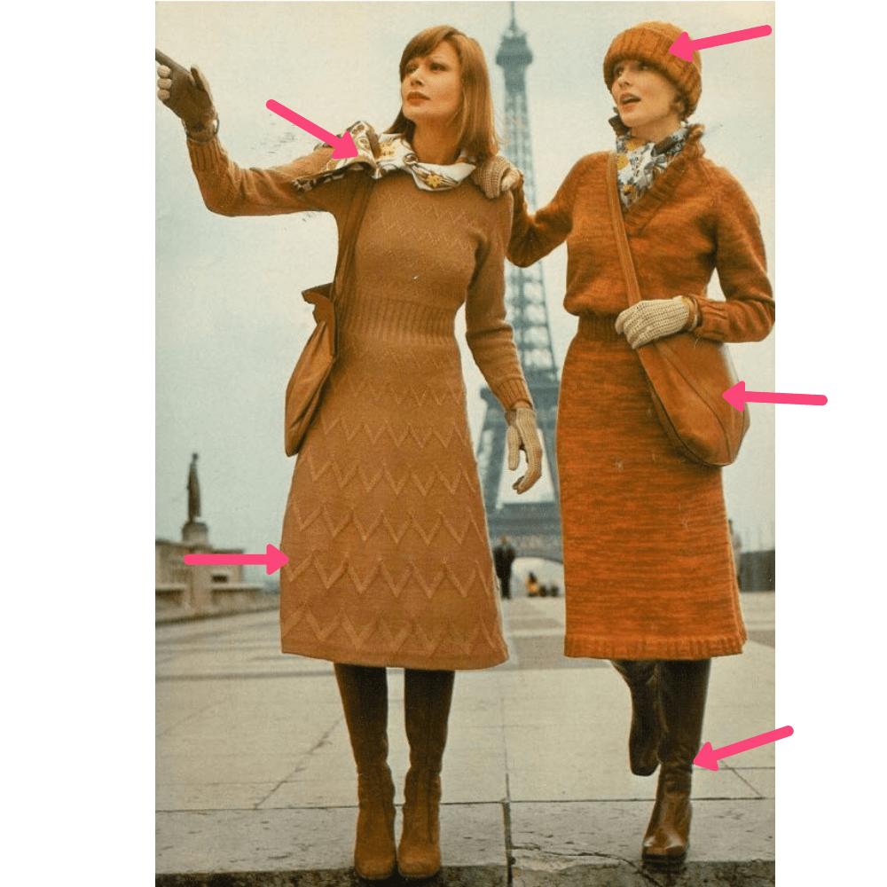 Retro Parisian Vibes
