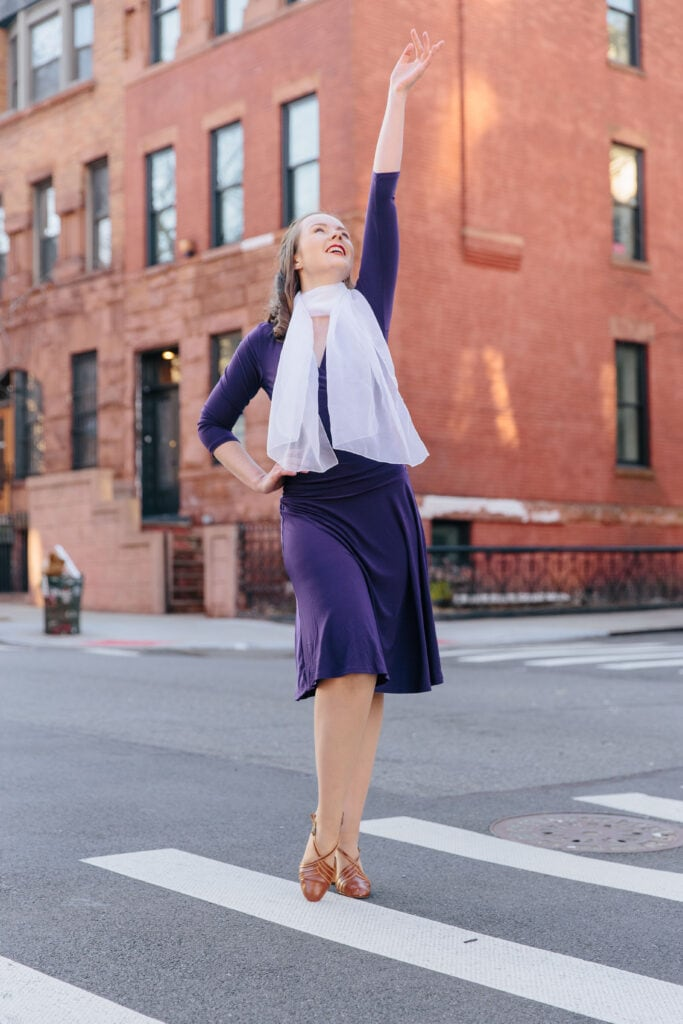 Pop of Confidence with a Pop of Color 1920s Gone Modern