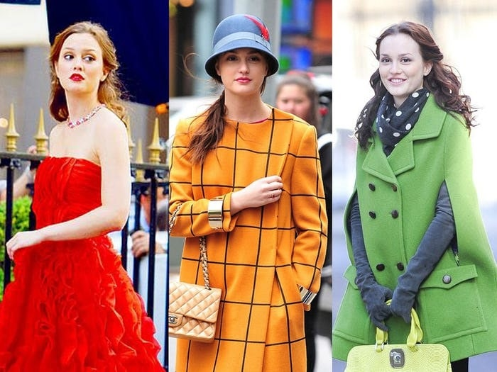 3 of Blair Waldorf's iconic vintage style outfits