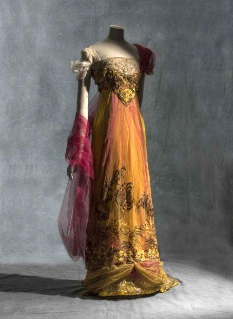 Romantic Edwardian Dress