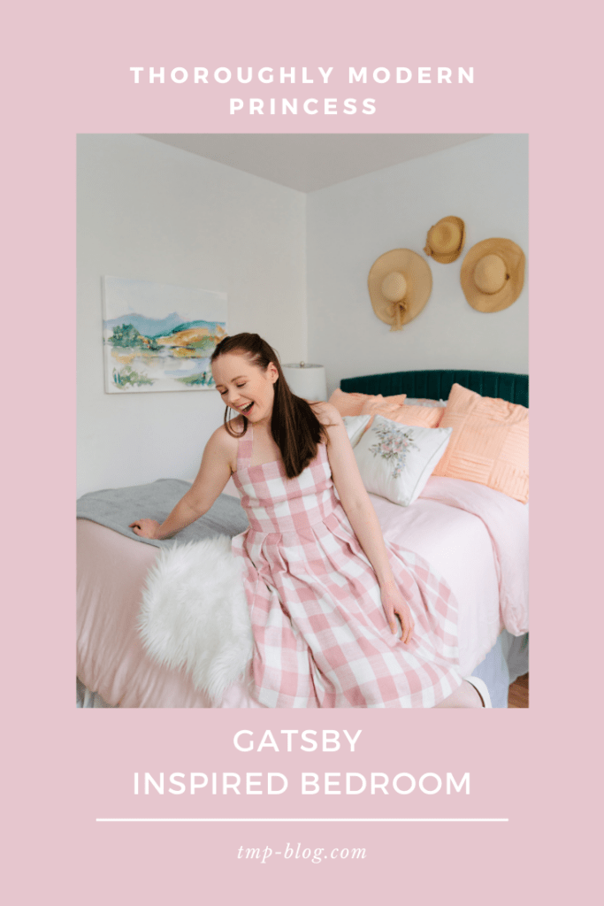 Gatsby Inspired Bedroom