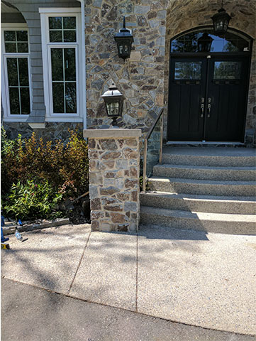 House Entrance Stairs After