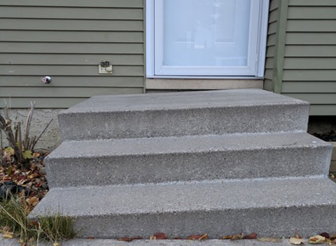 Stairs and Steps Before