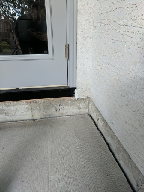 Steps Levelling Before Image