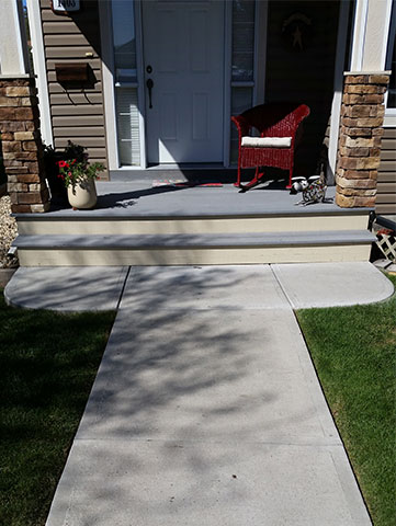 Walkway without Space After