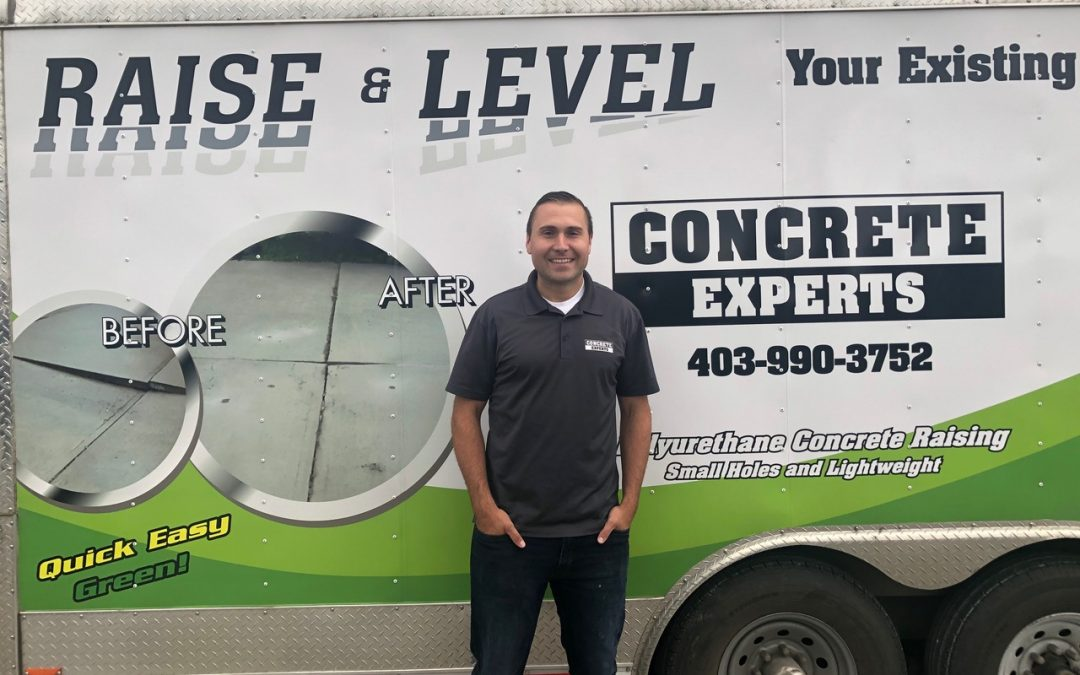 A day in the life of a concrete lifting expert