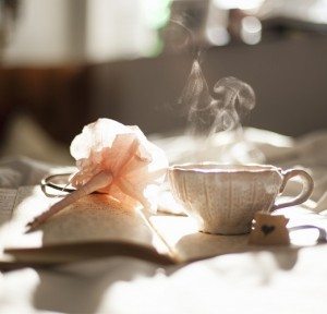 pen and tea
