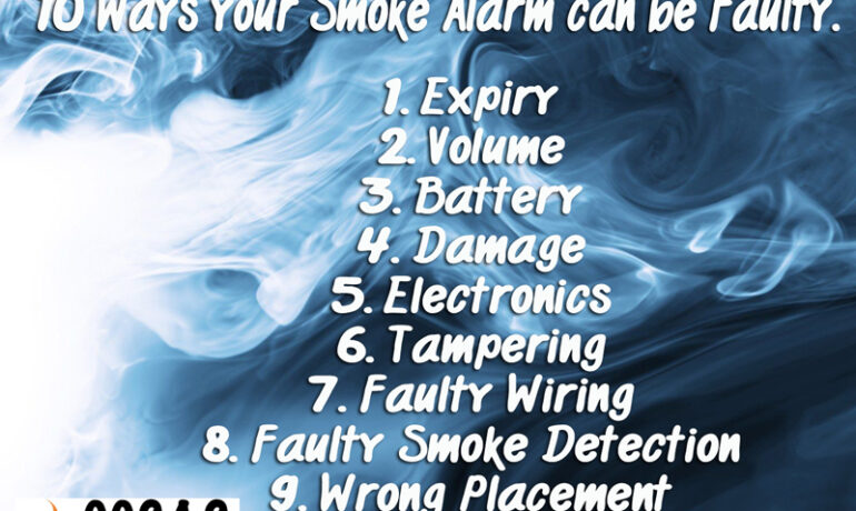 10 ways your Smoke Alarms can be defective