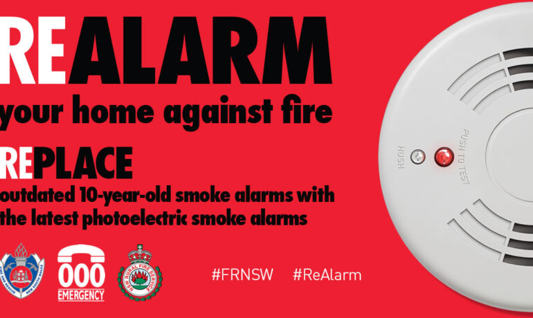 REAlarm: 1st May is 10 years to the day since smoke alarms became law across NSW and most alarm don't last 10 years
