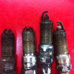 fouled sparkplugs