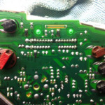 instrument cluster circuit board