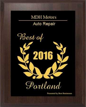 Portland Small Business Excellence MDH Motors
