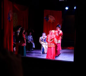The traditional Chinese wedding has considerable drama.