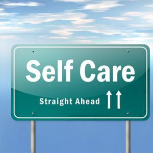 Self Care sign
