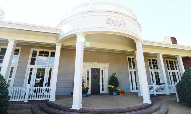 Ole Miss' Phi Delta Theta house gets a makeover
