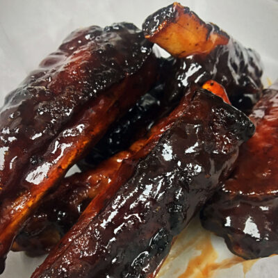Fried Barbecue Rib's
