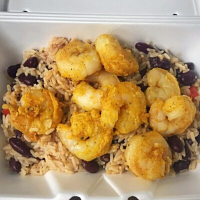 Shrimp Single with Rice