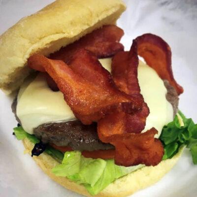 Tasty Bacon Cheese Burger