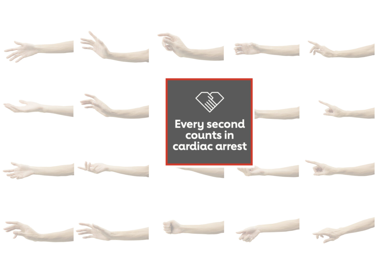 hands and every second counts