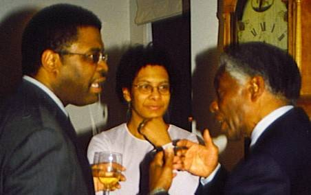 Wade Norwood & wife with Walter Cooper
