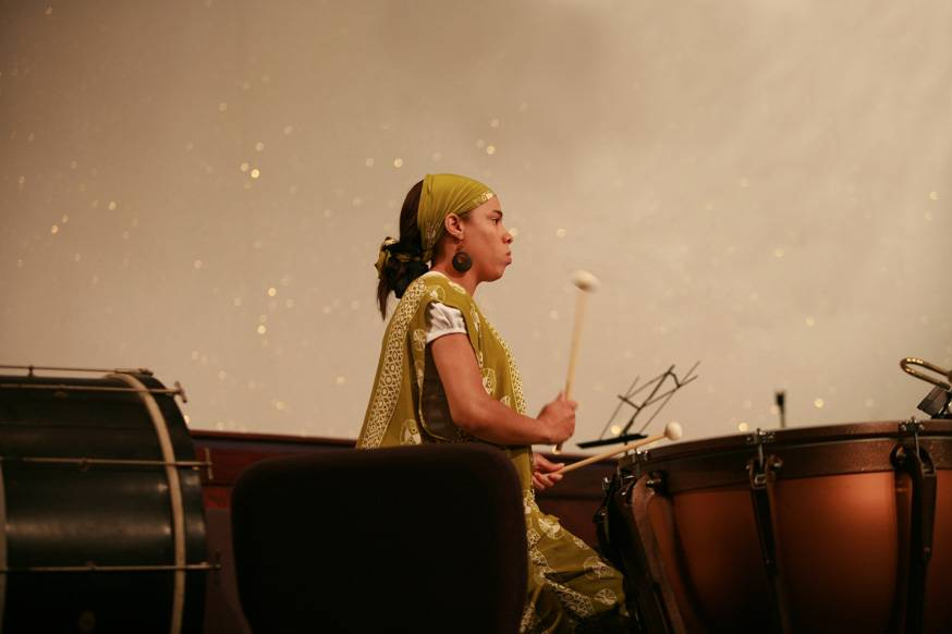 Andrea Holley, percussionist