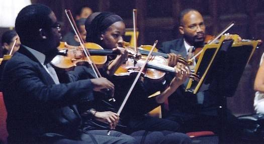 Gateways Music Festival Orchestra – Derrick Reeves, concertmaster