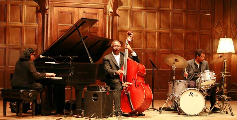 Valerie Capers Jazz Trio - pianist Valerie Capers, bassist John Robinson and drummer Earl Williams
