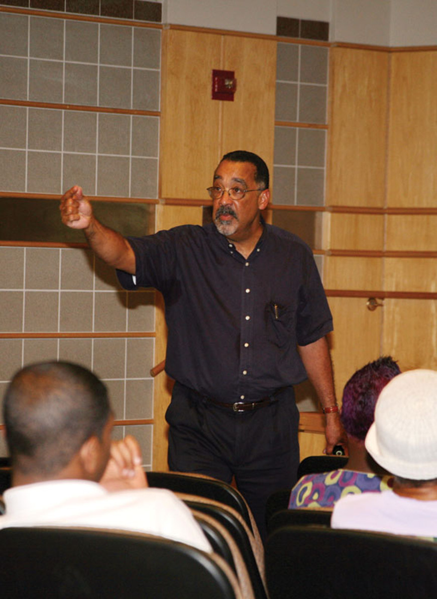 The Gateways Music Festival also included a high spirited lecture and slide presentation on the history ofblacksmusicians of African descentin classical music presented by Dr. Paul Burgett of the University of Rochester.