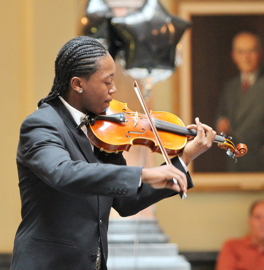 Youth Concert soloist Johnny Linton