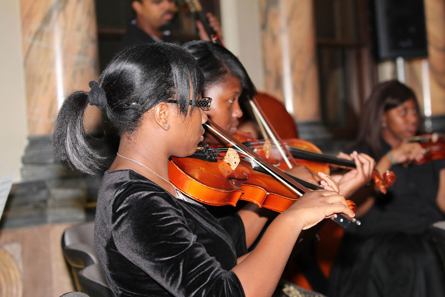 Muhammad School of Music Chamber Players' performance