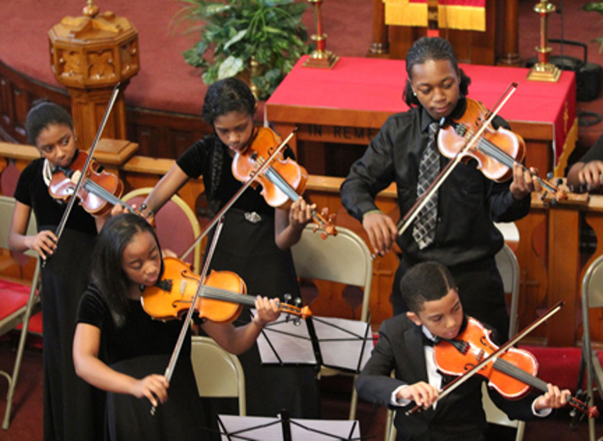 [2] Muhammad School of Music students performed at New Bethel CME Church