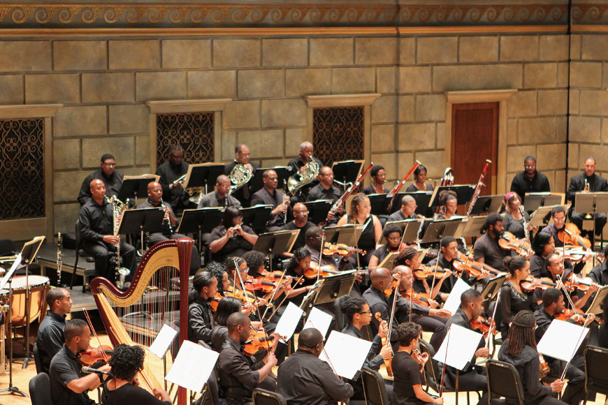 [43] 2013 Gateways Music Festival Orchestra Concert in Kodak Hall at Eastman Theatre, conducted by Michael Morgan