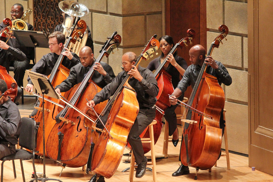 [45] 2013 Gateways Music Festival Orchestra Concert in Kodak Hall at Eastman Theatre, conducted by Michael Morgan
