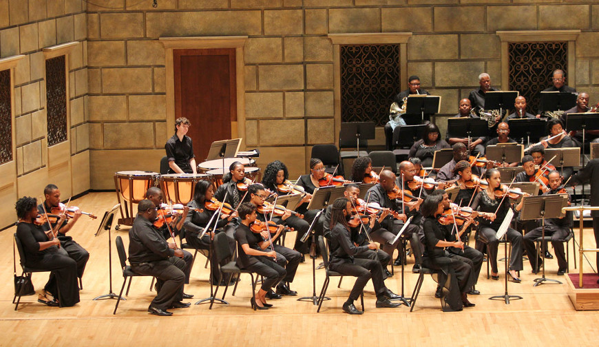 [46] 2013 Gateways Music Festival Orchestra Concert in Kodak Hall at Eastman Theatre, conducted by Michael Morgan