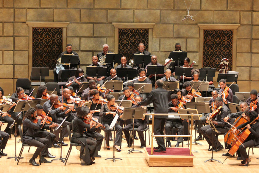 [48] 2013 Gateways Music Festival Orchestra Concert in Kodak Hall at Eastman Theatre, conducted by Michael Morgan