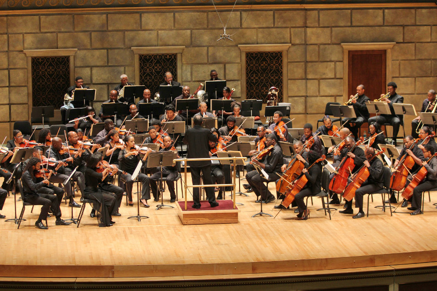 [51] 2013 Gateways Music Festival Orchestra Concert in Kodak Hall at Eastman Theatre, conducted by Michael Morgan