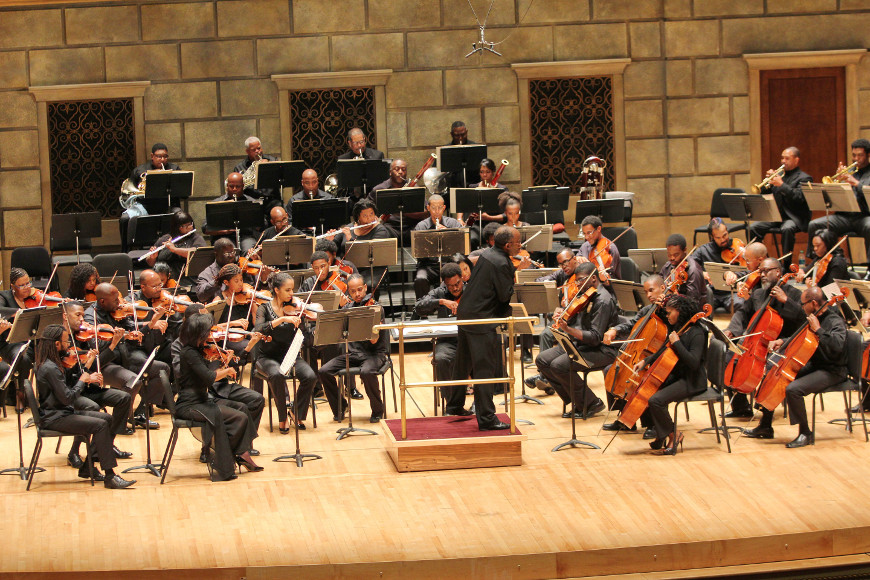 [60] 2013 Gateways Music Festival Orchestra Concert in Kodak Hall at Eastman Theatre, conducted by Michael Morgan