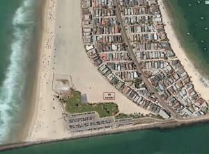 beach courts SMB map