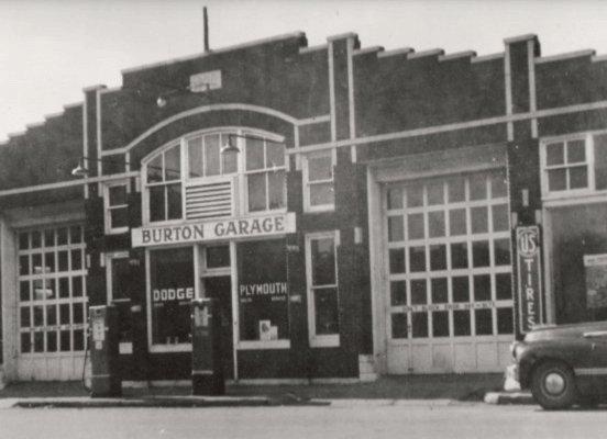 1950s johns barber shop