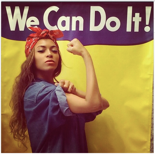 Beyonce as Rosie the Riveter (The Mama Actor)