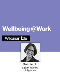 Hızlı Webinar: Wellbeing@Work