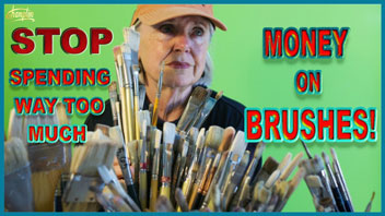 Spending Too Much on Brushes Video Thumbnail
