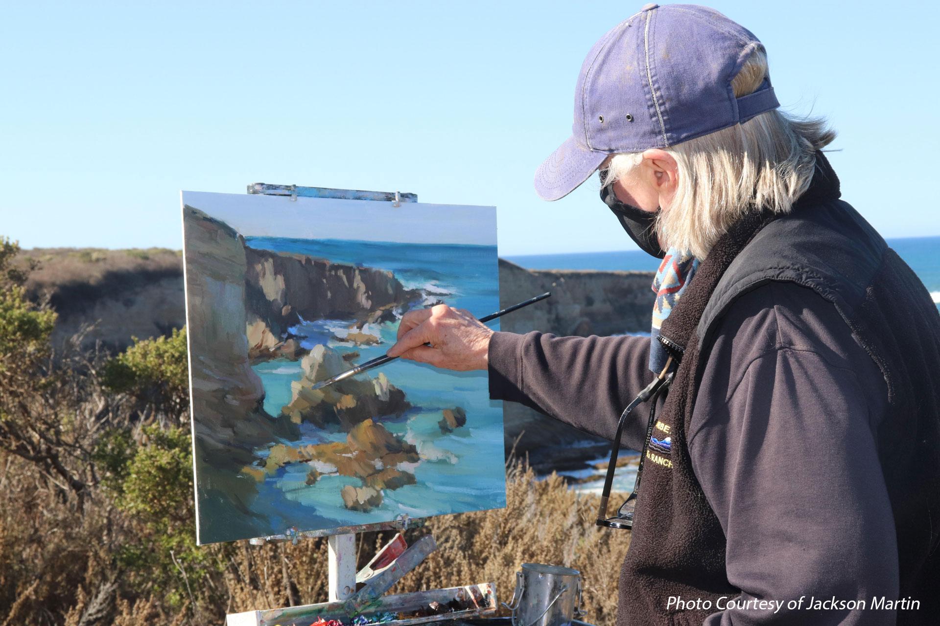 Plein Air Painting Montana de Oro