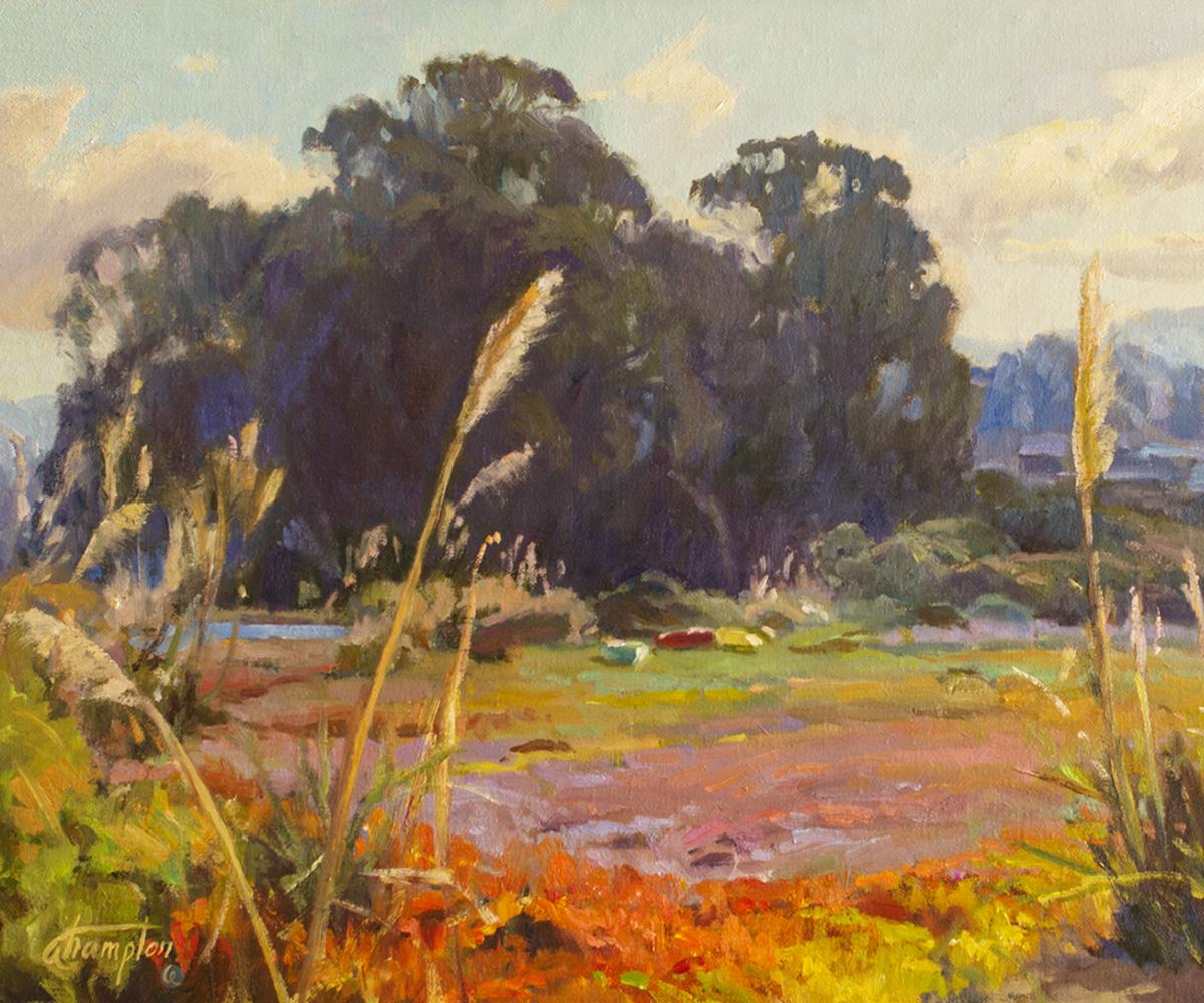 Natural Beauty Kaleidoscope oil painting by Anita Hampton