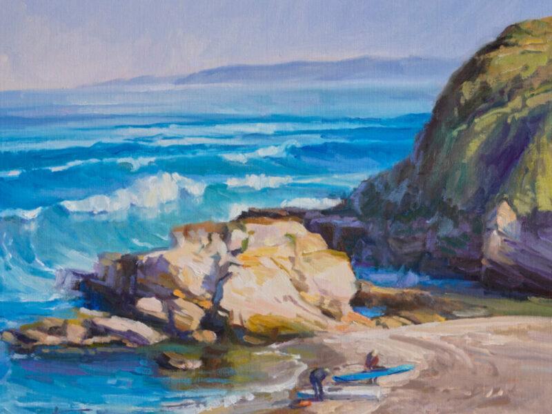 Seascape Anita Hampton 16x20