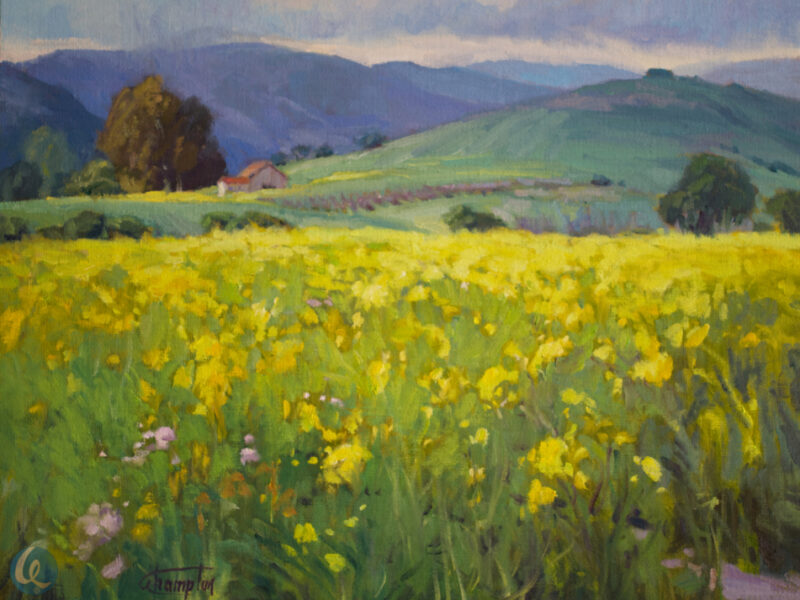 Painting the Mustard Field