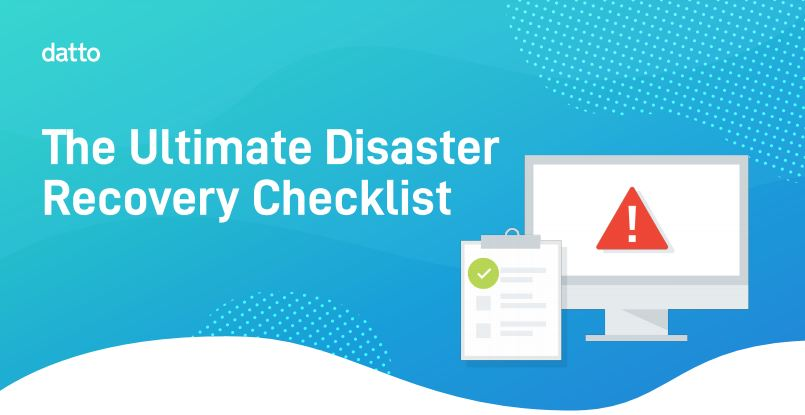 Ultimate Disaster Recovery Checklist