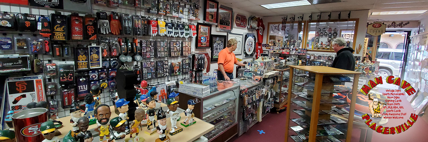 Man-Cave-Placerville-Sports Cards - Baseball Cards - Basketball Cards - Football Cards