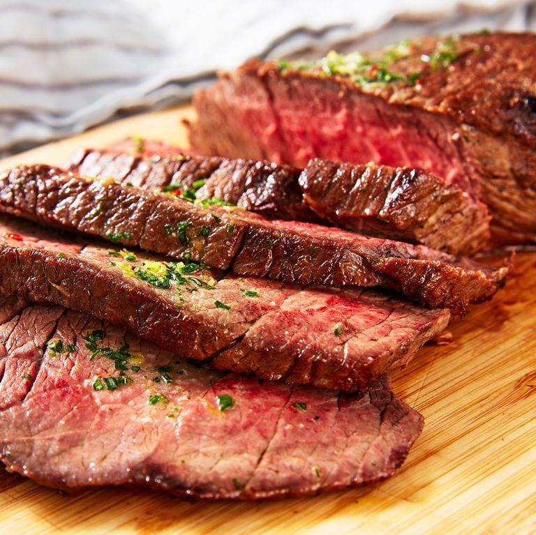 London Broil with Butter Herb
