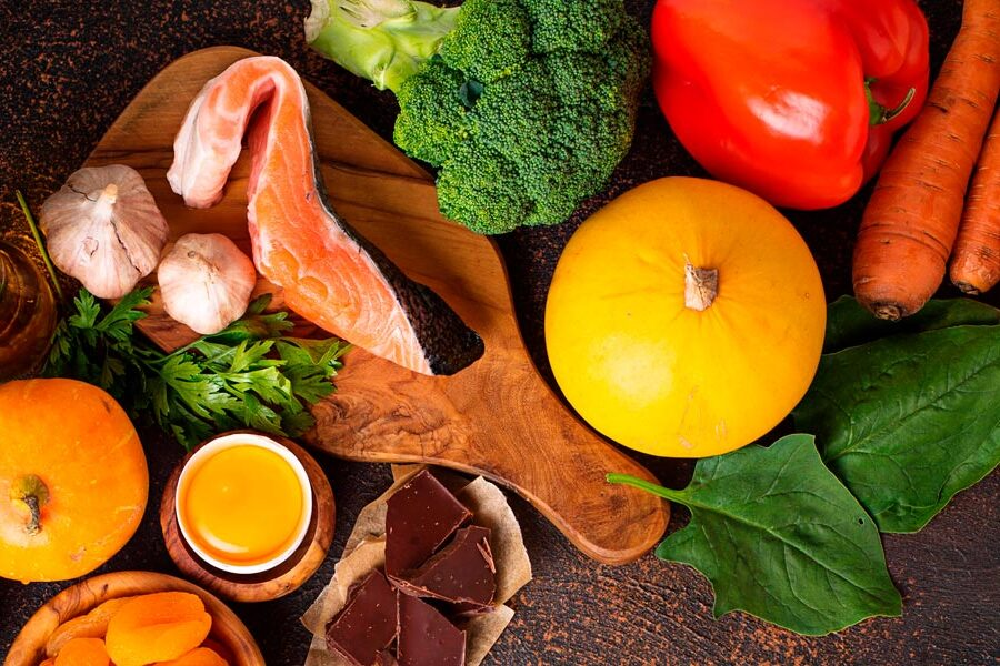 Nutrición para cuidar la vista